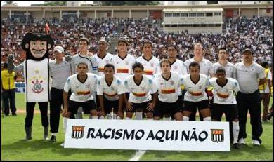 Da esquerda para a direita, em pé: André Dias, Rafael Almeida, Nando, Guilherme e Boquita. Agachados: Fernando Henrique, Douglas, Marcelinho, Sasha, Bertucci e Jádson