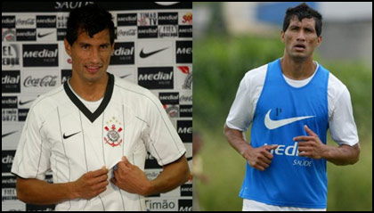 Corinthians apresenta o seu novo reforço: o zagueiro/lateral argentino Escudero