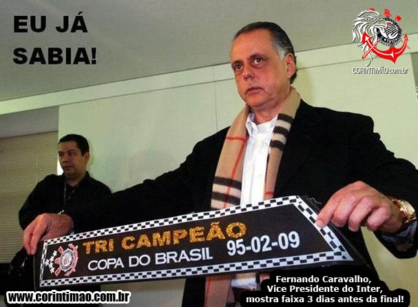 Vice Presidente Chorão Já Sabia!